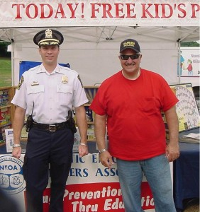 Gabe Lupo Chief Wydra National Night Out